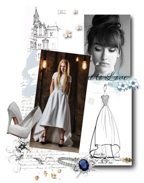 Who else loves the Reese? She is our high-low princess! #luraquel #highlow #wedding #bridal