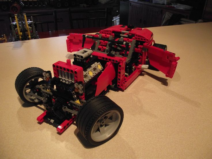 LEGO TECHNIC 8070 B MODEL - HOT ROD