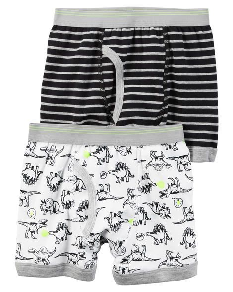 5a4ed1fea Toddler Boy 2-Pack Cotton Boxer Briefs from Carters.com. Shop ...