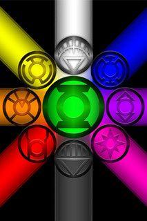 Green lanterne aller rings!!