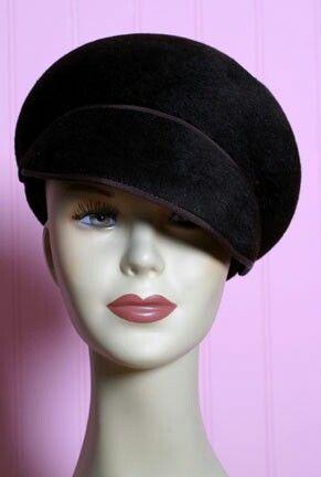 77c3e60988d5ad 60s mod hat | Ann's List in 2019 | Hats, Fashion, 1960s fashion