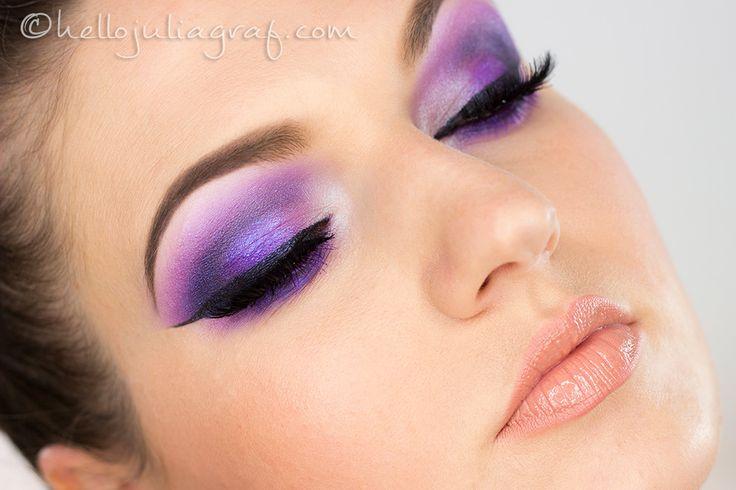 Ultra Violet Purple Smokey Eyes - tutorial on my blog!!