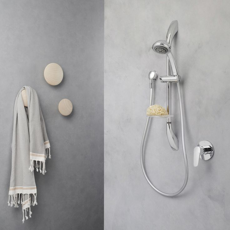 Dorf Nutra Rail Shower  #dorf #dorfstyle #tap #bathroom #design #styling #decor #grey #home #inspo #shower #nordic #scandinavian #relaxed