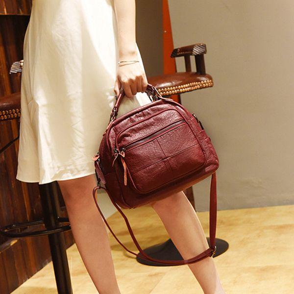 Vintage Handbag Shoulder Bags Crossbody Bag