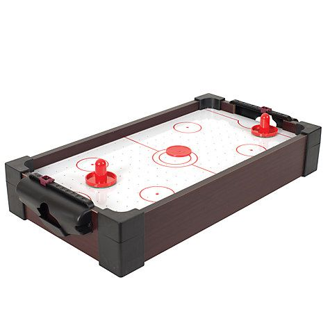 John Lewis Mini One Foot Table Air Hockey Game - £10