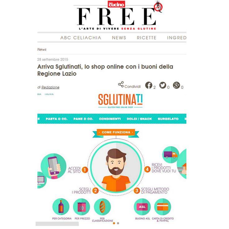 Eccoci su Free - Il mensile del Senza Glutine! Un articolo fantastico! Grazie alla redazione. http://bit.ly/1FDvCU8