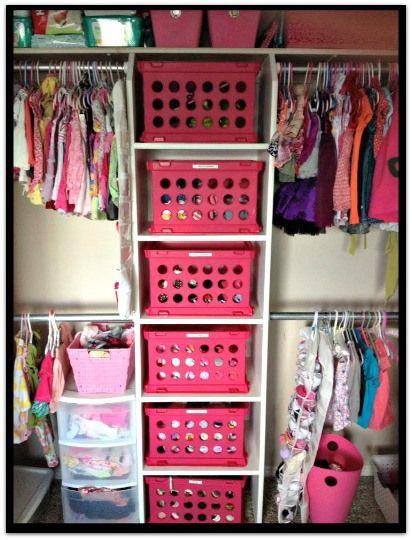 Best 25+ Girls Closet Organization Ideas On Pinterest | Small Girls Rooms, Organizing  Girls Rooms And Kids Room Organization