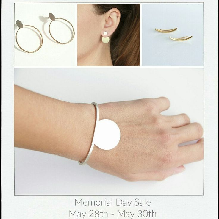Memorial Day Sale Coming Up!  15% Off All Jewelry from May 28th till May 30th.