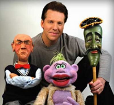 Love Jeff Dunham! Here's Walter, Peanut & Jose Jalepeno on a Stick.