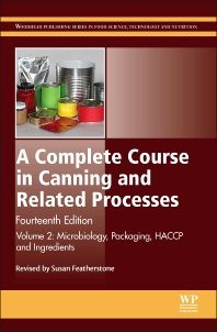 A Complete Course in Canning is firmly established as a unique and essential guide to canning and related processes. Professionals in the canning industry and students have benefited from successive editions of the book for over 100 years. This major new edition continues that reputation, with extensively revised and expanded coverage.