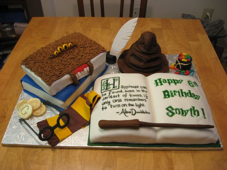 harry potter birthday supplies | Harry Potter Cake Topper