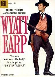 Wyatt Earp TV series 1955-61 with Hugh O'Brien