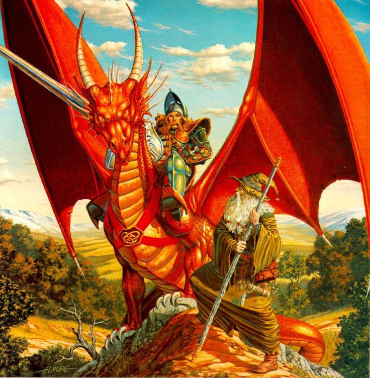 Fizban from Dragonlance Don't know Artist Every Wizard