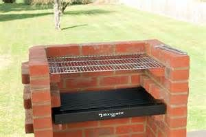 BUILT IN BRICK DIY BBQ KIT WITH STAINLESS GRILL BLACK KNIGHT BARBECUE ...