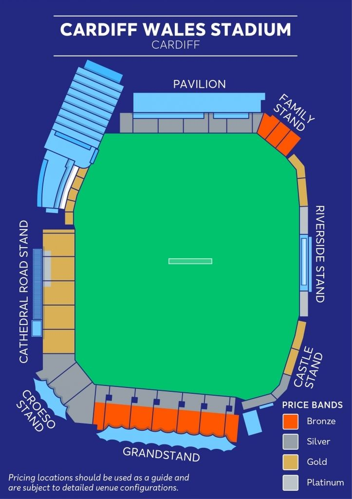 The Awesome Millennium Stadium Cardiff Seating Plan In 2020 Cardiff Stadium Millennium Stadium Cardiff Seating Plan