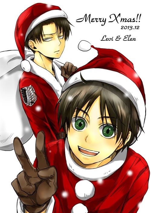 Attack On Titan - Merry Christmas Everyone and I wan to wish a Happy Birthday to my favourite SnK character Levi!! ❤️