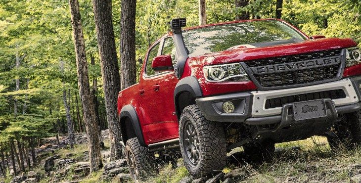 2019 Chevrolet Colorado Zr2 Bison Capability Chevrolet Colorado