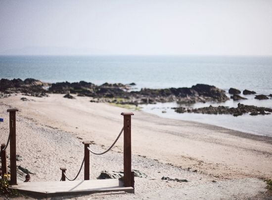 Beach Entrance From The Seaview Terrace At Waterside House Hotel Donabate Www Watersidehousehotel