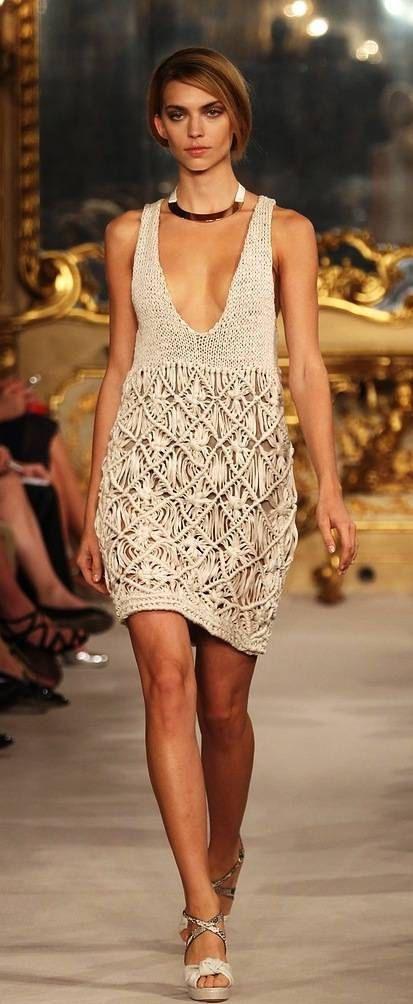 Vestido único. Crochet vestido boho. Ropa Bohemia. Macrame. Bohemio vestido…