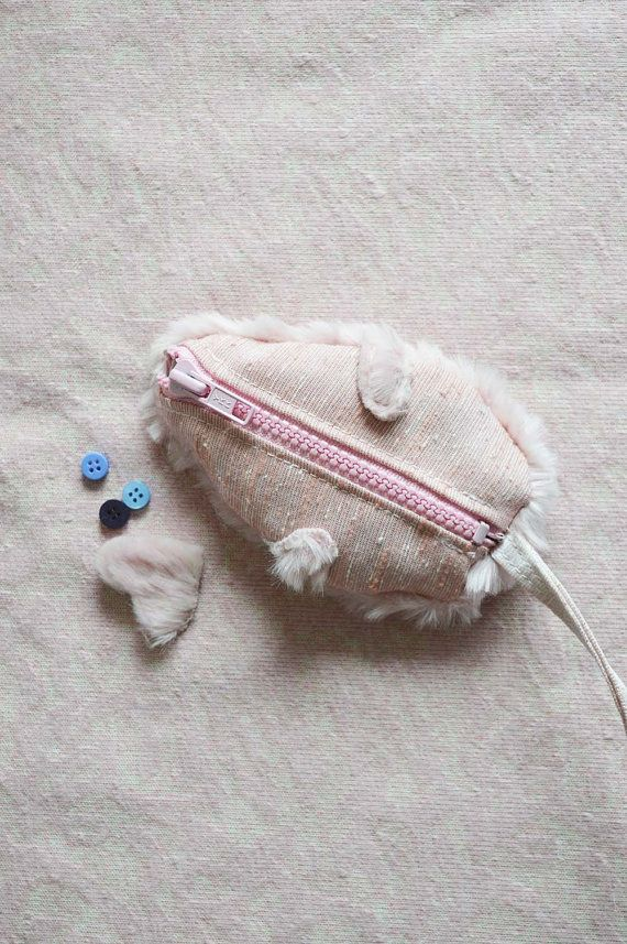 Mouse Coin Purse. Cute Mouse Purse. Mouse Playing by StudioAPlus