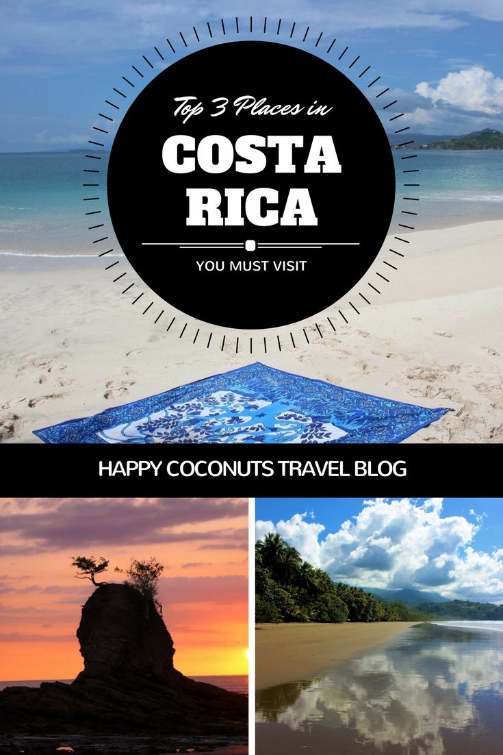 The Top 3 Places to Visit in Costa Rica |  The Best Places to Visit in Costa Rica |  Best Spots in Costa Rica |  Best Beaches in Costa Rica |  Vacation in Costa Rica |  Lodging in Costa Rica |  Restaurants in Costa Rica |  Caribbean side of Costa Rica |  Osa Peninsula of Costa Rica |  Uvita, Dominical, Costa Rica |  Costa Ballena area of Costa Rica |  Nicoya Peninsula of Costa Rica |  Blue Zone in Costa Rica |