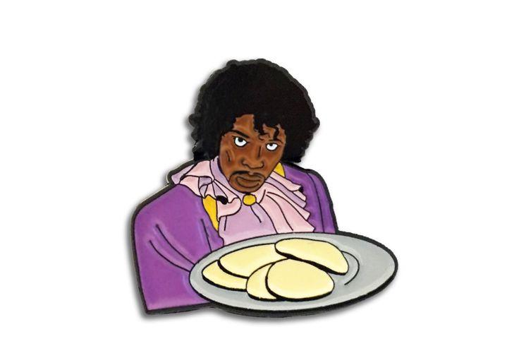 Pancakes, Dave Chappelle, prince enamel pin