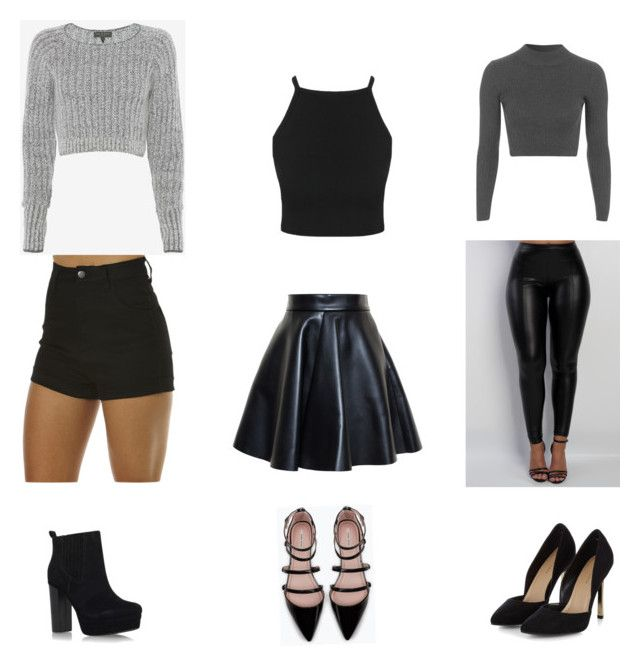 """House Party Outfits"" by moxnique on Polyvore featuring Wrangler, MSGM, Topshop, rag & bone, Zara and Miss KG"