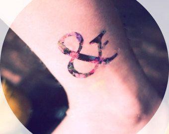 Floral kaufmännisches Tattoo - InknArt-Tätowierung - Handgelenk tattoo Zitat Körper Aufkleber fake Tattoo Hochzeit-Tattoo kleine tattoo