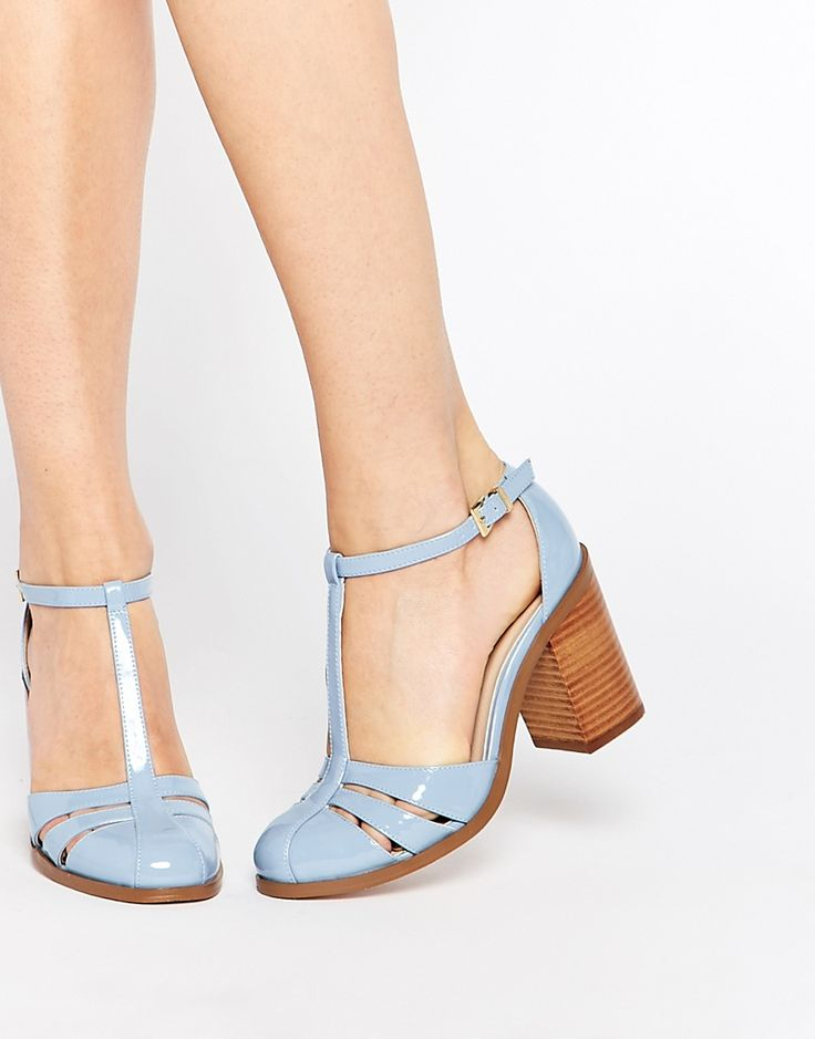 Image 1 of ASOS OPENING SHOW Heels  Think I must be going through a pastel phase :D