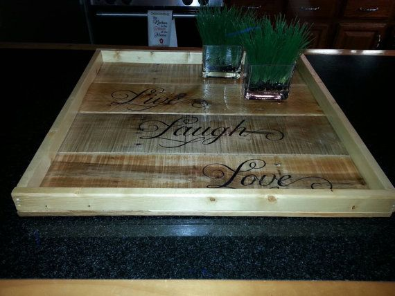 Best 25 Large Ottoman Tray Ideas On Pinterest Wooden Serving Trays Large Wooden Tray And
