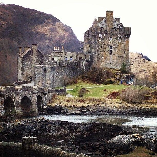 Eilean Donan Castle in Kyle Of Lochalsh
