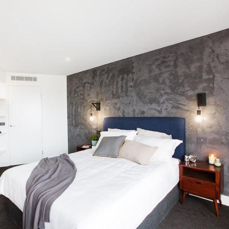 Caro and Kingi Room 2   Guest Bed 1 and Ensuite - Shop the look at www.theblockshop.com.au #theblockshop #theblock