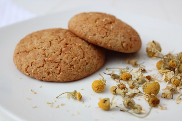 camomile cookies (with warm milk?)
