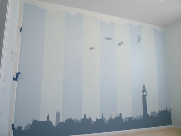 Cute idea for Peter Pan Nursery