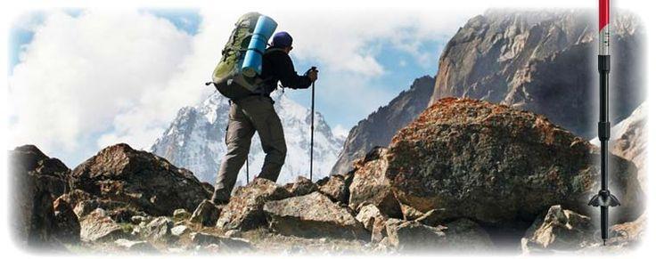 Gabel trekking poles
