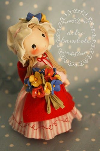 Dolci Bambole-creazioni in porcellana fredda -Polymer clay