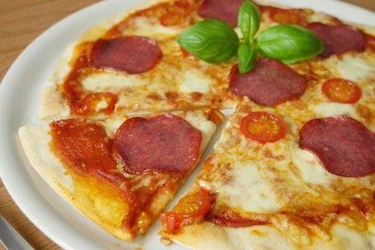 blitz pizza mit backpulver,wenn es mal schnell gehen soll