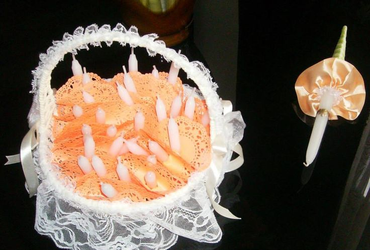 #veridekor #deco #peach #peachdeco #wedding #candle
