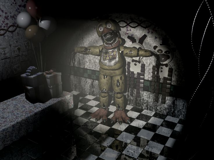 Freddy's Chica 2 Nights at Five | 13 Rare Five Nights at Freddy's 2 Screens You May Not Have Seen