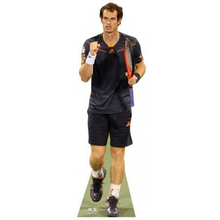 Andy Murray Lifesize Cutout   Height: 180cms - 6ft approx