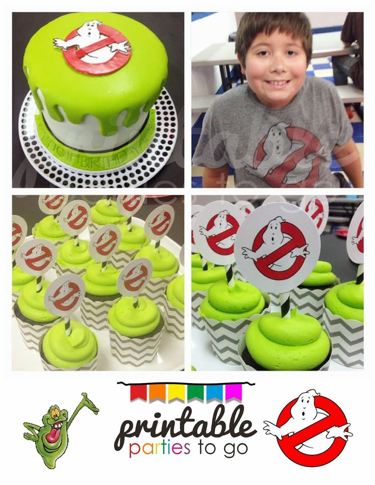 Printable Parties to Go - GHOSTBUSTERS