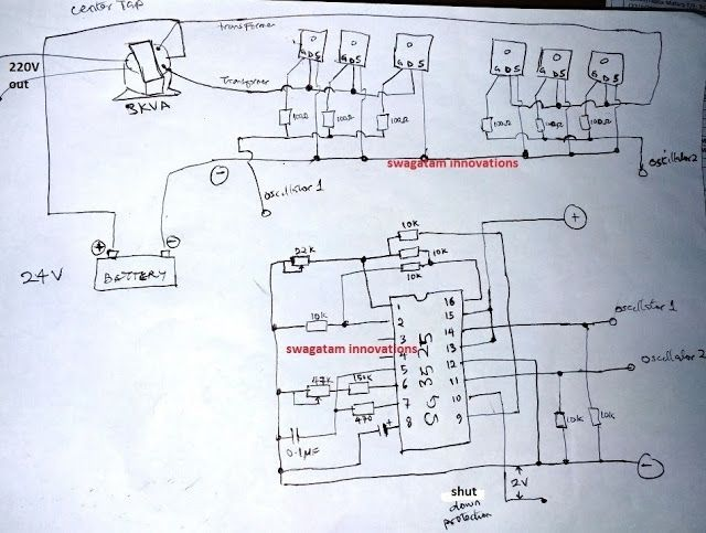 Fet Power Lifier Circuit Moreover Inverter Circuit Diagram ... on