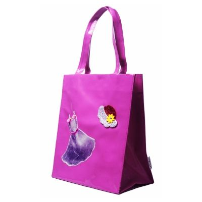 Buy Lill Pumpkins Pink Dress Big Tote by L'ill Pumpkins, on Paytm, Price: Rs.580?utm_medium=pintrest