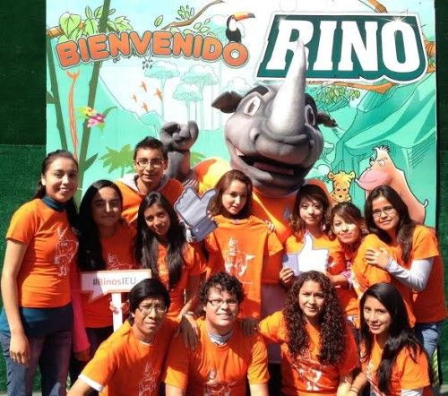"Universidad IEU dio la bienvenida a ""RINO"", su mascota"