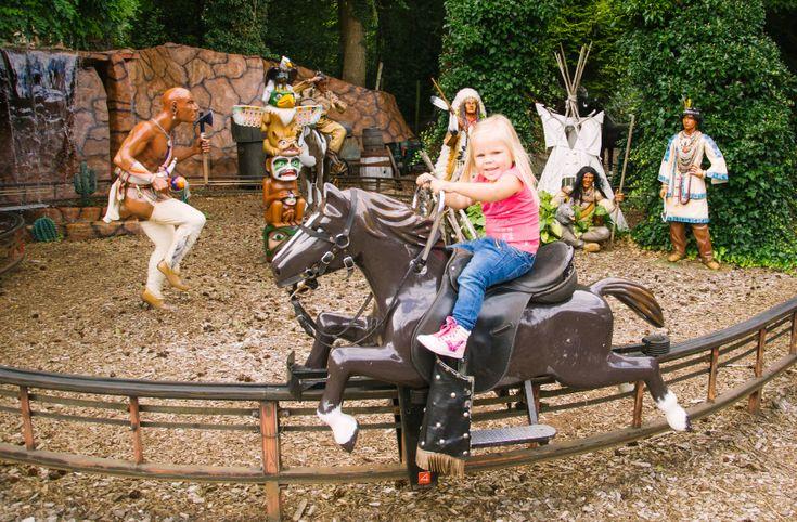 Op een paardje in de paardenbaan