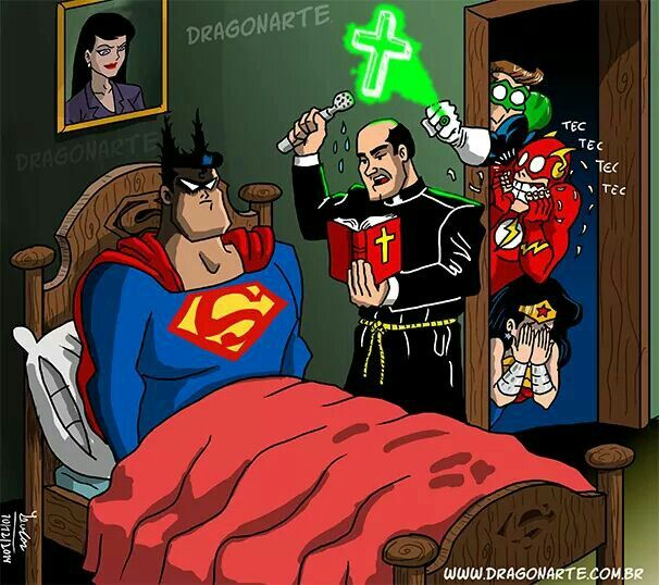 Batman/superman exorcisme