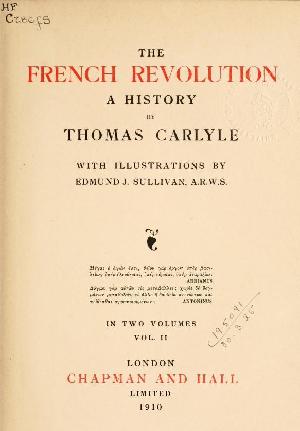 the french revolution poem