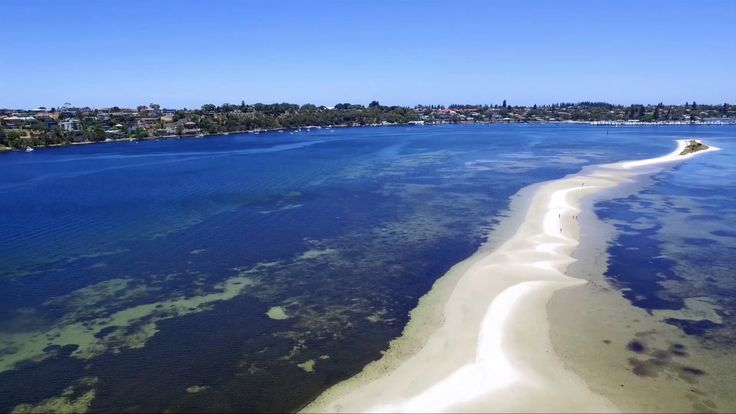Point Walter And Swan River drone video
