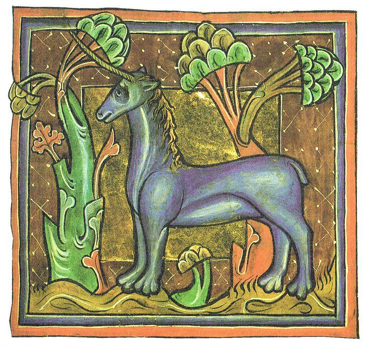 Ancient Medieval Literature: Unicorn : Physiologus : Ana Stoykova : Medieval Literature