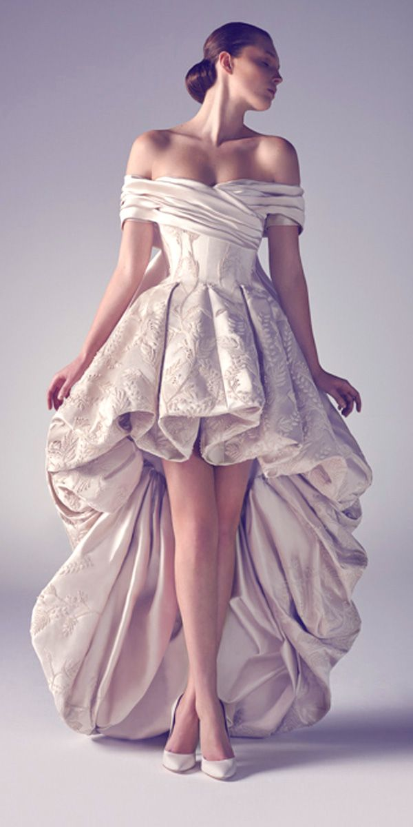 Most Popular Exotic Wedding Dresses From Ashistudio ❤ See more: http://www.weddingforward.com/exotic-wedding-dresses/ #weddings